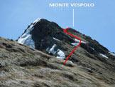 Via Normale Pizzo Pidocchio e Monte Vespolo - L'itinerario lungo la cresta NW del Monte Vespolo