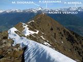 Via Normale Cima Pizzinversa – Pizzo Pidocchio - Lungo la traversata di creste