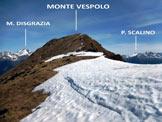 Via Normale Cima Pizzinversa – Pizzo Pidocchio - La facile cresta S del Monte Vespolo