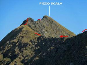 Via Normale Pizzo Scala