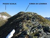 Via Normale Cima di Lemma - da W - A pochi metri dalla cima