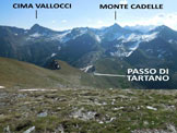 Via Normale Cima di Lemma - da W - Panorama di vetta, verso E