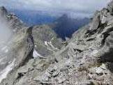 Via Normale Pizzo Ligoncio - Vista dalla vetta sulla Val Chiavenna