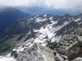 Via Normale Pizzo Ligoncio - Vista dalla vetta sulla Val Masino
