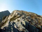 Via Normale Monte Moro - A pochi metri dalla vetta