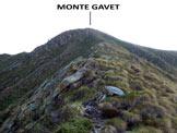 Via Normale Monte Gavet - Sulla facile cresta W