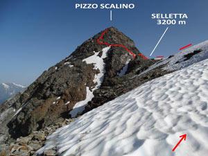 Via Normale Pizzo Scalino - dalla Val Fontana
