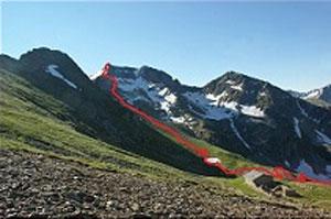 Via Normale Monte Masoni (ver. W)