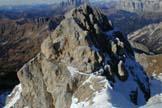 Via Normale Punta del Ciadin (cima N) - Vista dalla P.ta del Ciadin E