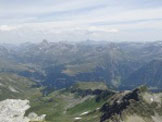 Via Normale Pizzo Quadro (Cima de Pian Guarnei) - Vista verso Madesimo