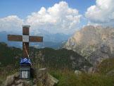 Via Normale Monte Mondeval / Corvo Alto - Croce di vetta