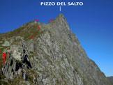 Via Normale Pizzo del Salto - Immagine ripresa dal Passo del Salto