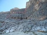 Via Normale Cima del Lago - Diedro Consiglio - Dall´Oglio - Il diedro dal basso