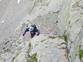 Via Normale Cima Dura - Durreck - sull´ultimo passo per guadagnare la cresta