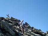 Via Normale Cima di Terento (Eidechspitze) - Scendendo dalla cima