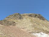 Via Normale Corno Bianco di Pennes/Penser Weisshorn - La cima dal Giogo delle Frane