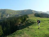 Via Normale Kladivo - Tratto del percorso