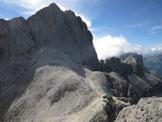 Via Normale Belvedere della Croda di Re Laurino - Dalla cima verso cima Catinaccio