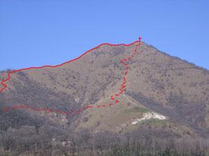 Via Normale Monte Cereto