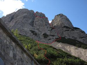 Via Normale Monte Miaron