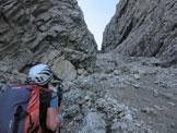 Via Normale Monte Miaron - Canalone di accesso