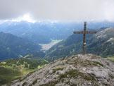 Via Normale Cima del Feudo - La croce e predazzo