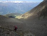 Via Normale Punta Cervinia / Hirtzer Spitze - Alpe di Talle dalla partenza