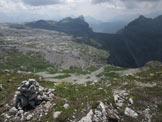 Via Normale Col de Puez - Dalla cima verso S