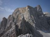 Via Normale Cima di Val d´ Arcia - Verso parete N del Pelmo