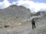 Via Normale Monte Cavallino - Dalla cresta SW verso la vetta