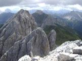 Via Normale Monte Cavallino - Dalla vetta verso Peralba (est)