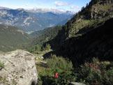 Via Normale Cima Busa Alta - Entrata nella Busa Alta