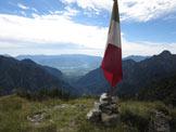 Via Normale Col del Demonio - Dalla vetta verso Valbelluna