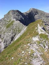 Via Normale Schiara - Spallone E e cresta di salita