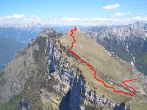 Via Normale Monte Palazza