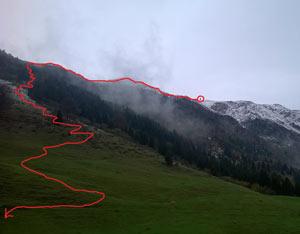 Via Normale Monte Guglielmo - Via normale triumplina