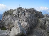 Via Normale Monte Palombino - In vetta