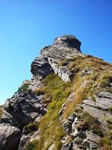 Via Normale Monte Alto - Il 3° tratto della ferrata
