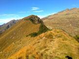 Via Normale Monte Campagano - Cresta per la quota 2031 m