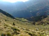 Via Normale Monte Campagano - Alpe Campagano e Baita bassa