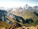 Via Normale Becca di Nona - La Grivola vista dalla cima
