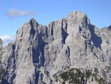 Via Normale Pala Alta - Dalla cima verso Schiara e Burel