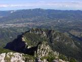 Via Normale Pala Alta - Dalla cima verso Valbelluna