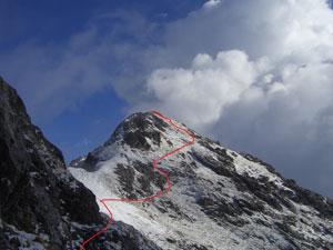 Via Normale Monte Lastroni