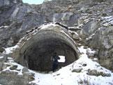 Via Normale Monte Lastroni - Fortificazioni sotto la vetta