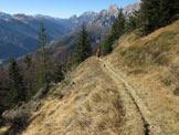Via Normale Monte  Talm - Mulattiera di accesso