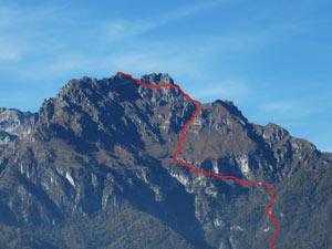 Via Normale Monte San Mauro