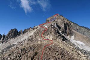 Via Normale Monte del Forno