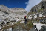 Via Normale Monte del Forno - Val Bona verso il Passo del Forno