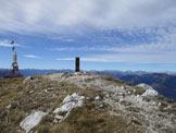 Via Normale Monte Amariana - Sulla cima
